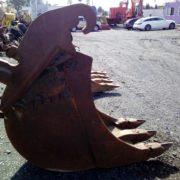 Łyżka do kopania podsiębierna na szybkozłącze Verachtert CW 45